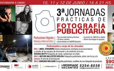 Terceras Jornadas Prácticas de Fotografía Publicitaria 2013