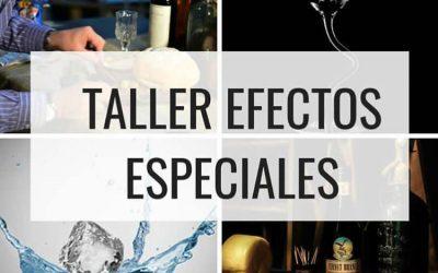 TALLER INTENSIVO DE EFECTOS ESPECIALES 2018